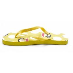 Γυναικείες Σαγιονάρες PAUL FRANK Κίτρινες PF19008