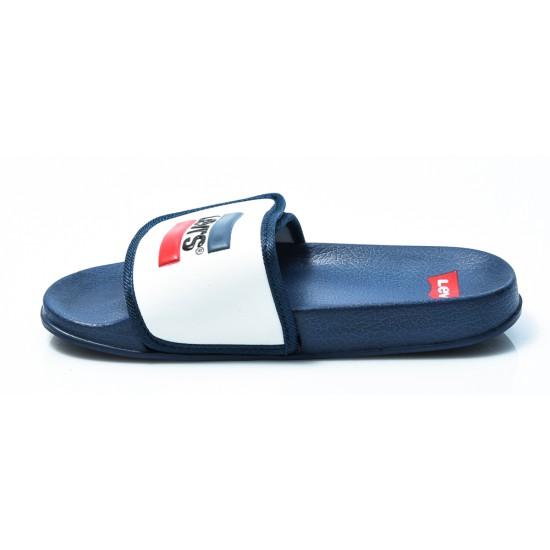 Παιδικές Σαγιονάρες LEVIS Μπλε/Άσπρες VPOL0023S-0195