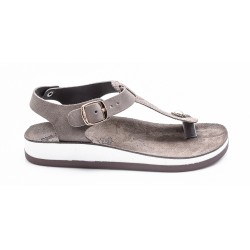 Γυναικεία Σανδάλια FANTASY SANDALS Coffee Glitter Snake JULES-S3001