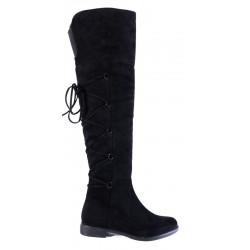 Γυναικείες Μπότες BOKASHOES Μαύρες 002Γ203