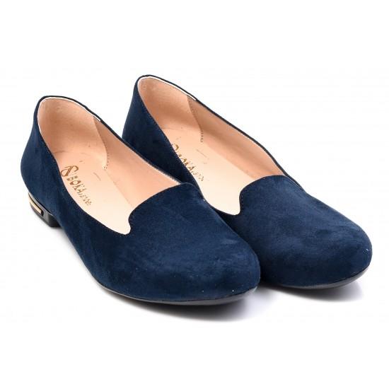 Γυναικείες Μπαλαρίνες BOKASHOES Μπλε 002Η203