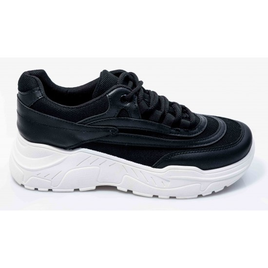 Γυναικεία Sneakers BOKASHOES Μαύρα 003Ι209