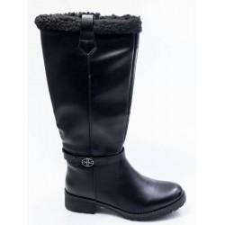 Γυναικείες Μπότες BOKASHOES Μαύρες 003Ι204