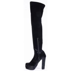 Γυναικείες Μπότες WALL STREET Μαύρες 005Α245