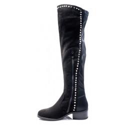 Γυναικείες Μπότες ADAMS Μαύρες 829-17530