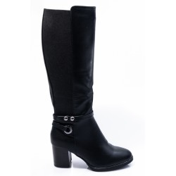 Γυναικείες Μπότες ADAMS Μαύρες 005Ι202