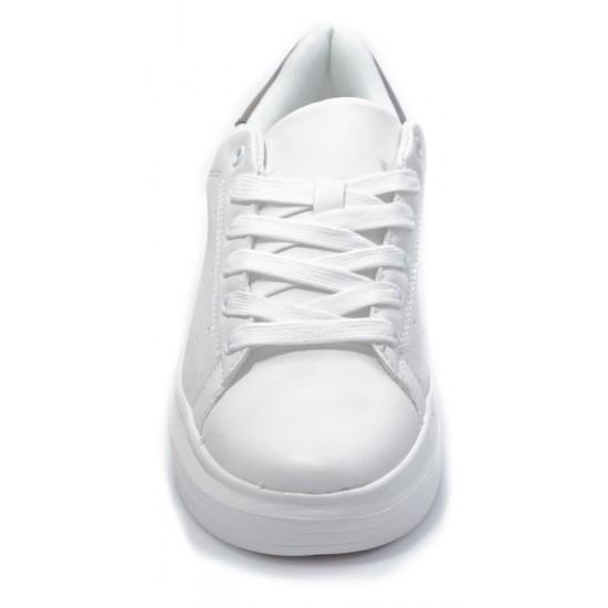 Γυναικεία Sneakers ADAMS Άσπρα 005Ι217