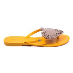 Γυναικείες Σαγιονάρες MELISSA Κίτρινες 0054217