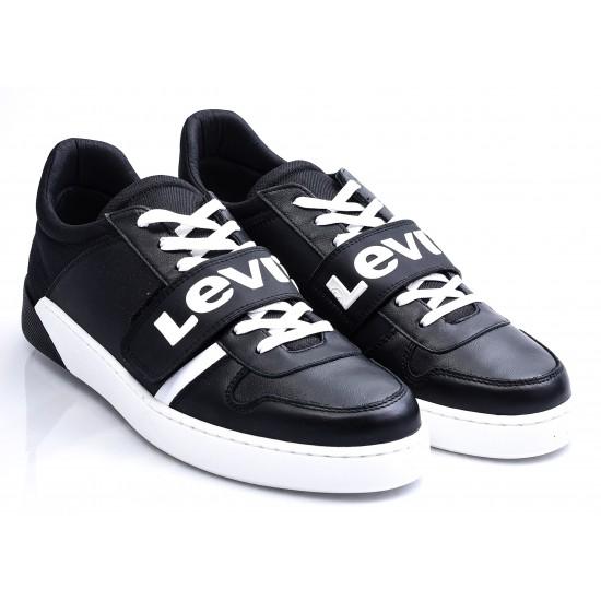 Ανδρικά Sneakers LEVIS Μαύρα 270-19531-58