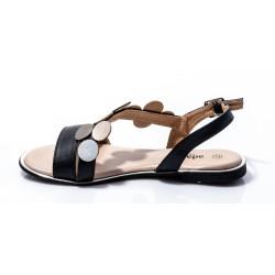 Γυναικεία Flat ADAMS Μαύρα 855-20002-29