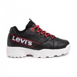 Παιδικά Sneakers LEVIS Μαύρα SOHO VSOH0051S-0008