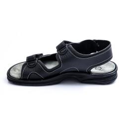 Ανδρικά Πέδιλα BOKASHOES Μαύρα 008Ζ101