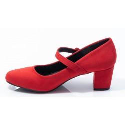 Γυναικείες Γόβες BANYS Κόκκινες 011Ε209