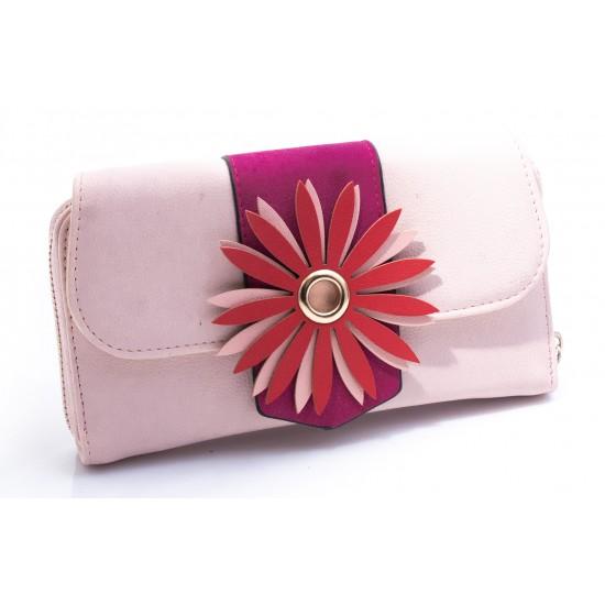 Γυναικείο Πορτοφόλι BOKASHOES Ροζ 016Δ651