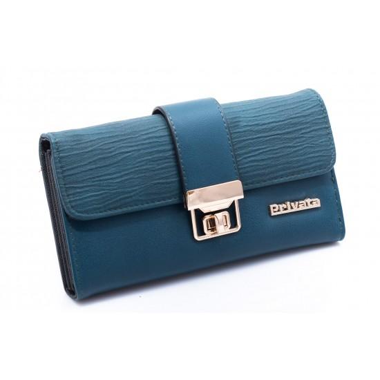 Γυναικείο Πορτοφόλι PRIVATA Μπλε 016Ε656