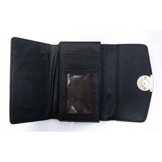 Γυναικείο Πορτοφόλι BOKASHOES Μαύρο 016Ζ653