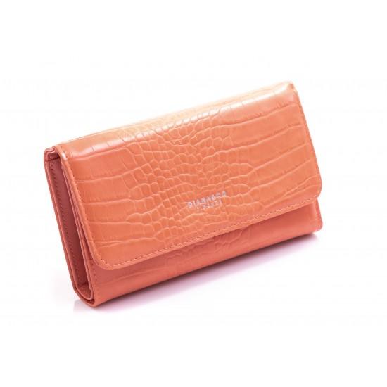 Γυναικείο Πορτοφόλι DIANA & CO Πορτοκαλί 016Θ698