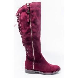 Γυναικείες Μπότες ENVIE Μπορντώ E42-06512-30