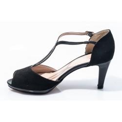 Γυναικείες Γόβες ENVIE Μαύρες Ε02-07010