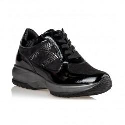 Γυναικεία Sneakers ENVIE Μαύρα V85-12409-34