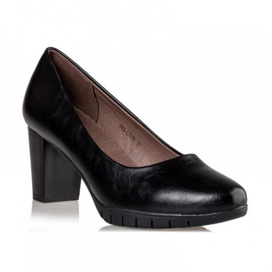 Γυναικείες Γόβες ENVIE Μαύρες V63-12170-34