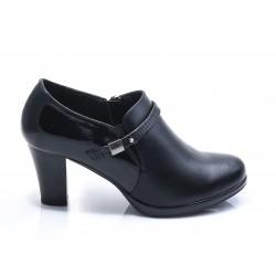 Γυναικεία Μποτάκια ENVIE Μαύρα V63-12046-34