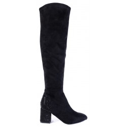 Γυναικείες Μπότες SEVEN Μαύρες Η862-R202