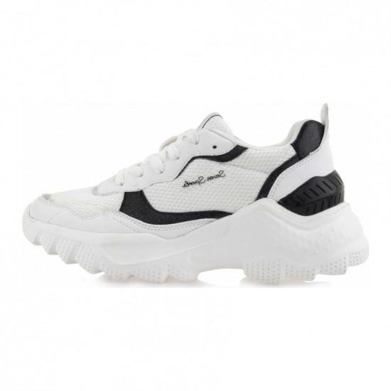 Γυναικεία Sneakers SEVEN Άσπρα N114U358362P