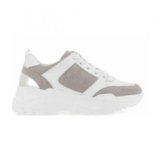 Γυναικεία Sneakers SEVEN Άσπρα N119R5152K22