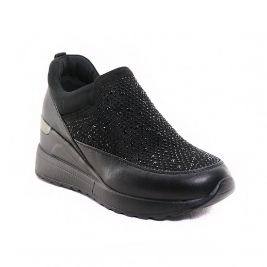 Γυναικεία Sneakers SEVEN Μαύρα L139U7103001