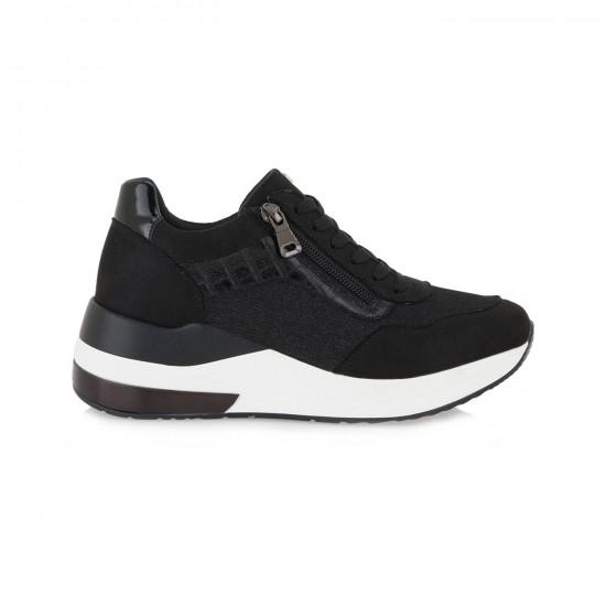 Γυναικεία Sneakers SEVEN Μαύρα L119R0223001