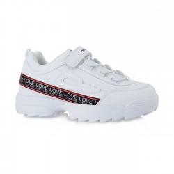 Παιδικά Sneakers EXE KIDS Άσπρα LA32R1832651