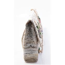 Γυναικεία Τσάντα Ώμου TSAKIRIS MALLAS Γκρι 030Β614