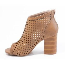 Γυναικεία Peep Toes SEVEN Ταμπά K367V920558105