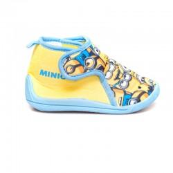Παιδικά Παντοφλάκια MINIONS Κίτρινα/Γαλάζια 009Α304